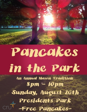 CRU Pancakes in the park
