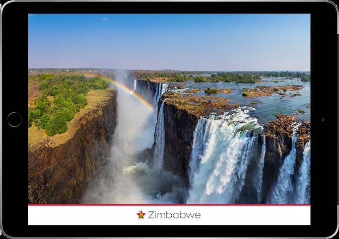 Zimbabwe Ipad Home